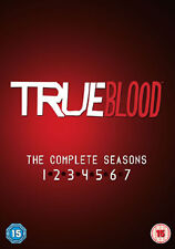 DVD:TRUE BLOOD - SEASON 1 TO 7 - NEW Region 2 UK