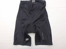BELLWETHER Mens Used Black Lycra Spandex Bike Bicycle Cycling Shorts Size Large