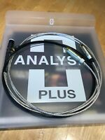 Analysis Plus Low Mass Oval Phono Cable, DIN to RCA, Length 1.0 Meter
