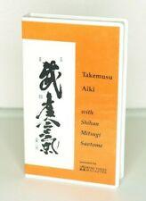 Mitsugi Saotome: Takemusu Aiki VHS Martial Arts