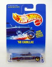 Hot Wheels '59 Cadillac #266 Mainline DieCast Car Moc Complete 1991