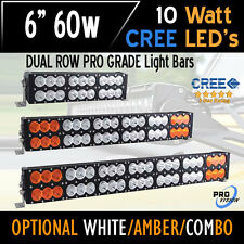 6 Inch 60w LED Bar Light - CREE Dual Row - The Most Powerful in the World Today!