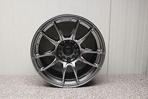 4 x  MOTEC NITRO MCR1-8015 HYPER BLACK 8x15 ET 20 LK 10x120 BMW Challenge
