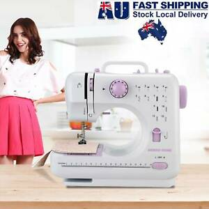 12 Stitches Electric Sewing Machine Multi-Function Portable Hand held Desktop