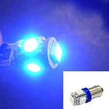 DC 12V Blue T11 BA9S T4W H6W 363 5 LED 5050 SMD Car Wedge Side Light Lamp Bulb