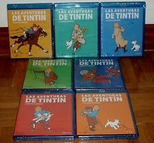 TINTIN COLECCION COMPLETA 1-7 PACK NUEVO NEW SEALED 7 BLU-RAY+7 DVD SIN ABRIR R2