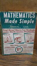 Mathematics Made Simple by M. Stuart (B-71E)