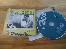 CD Indie John Doe Thing - Freedom Is .. (214 Song) TWAH! TUNES WITH A HEART