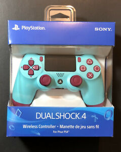 Official Sony PS4 Dualshock 4 Wireless Controller v2 [ Berry Blue Edition ] NEW