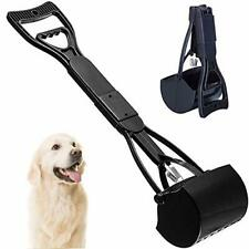 Pet Pooper Scooper For Dogs Cats With Long Handle Foldable Dog Poop Waste Pick