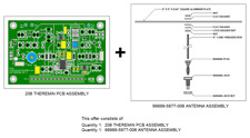 206 Pitch Theremin PCB and Plate Antenna Assembly