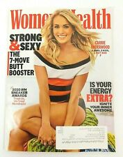 New Women's Health Magazine Carrie Underwood Strong & Sexy 7 Butt Booster Move