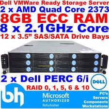 Dell Rackmount 8GB AMD Enterprise Network Servers