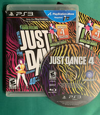 Just Dance 4 (PS3, Playstation 3) Complete with Case and Manual CIB