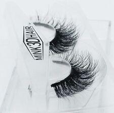 3D Mink Natural Thick False Fake Eyelashes Hand Made Makeup Extention