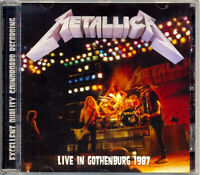 "METALLICA ""Live In Gothenburg 1987"" (SOUNDBOARD) (RARE CD)"