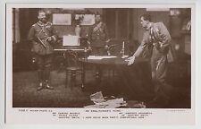 POSTCARD - Edmund Maurice & Lawrence Grossmith, theatre play scene actors