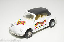 MC TOY MACAU VW VOLKSWAGEN BEETLE KAFER CABRIOLET SUPER BUGGY WHITE EXCELLENT