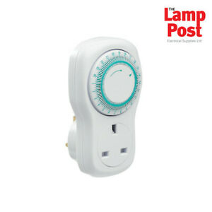 Greenbrook T73A-C 24 Hour Mechanical Plug In Home Security Energy Saving Timer