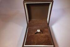 Womens 0.9CT diamond engagement ring size M