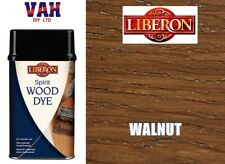 LIBERON SPIRIT BASED WOOD DYE CHOICE OF COLOUR AND SIZES
