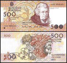 Portugal 500 Escudos Banknote, 1993, P-180f, UNC