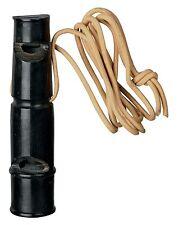 2255 TRIXIE PER CANI DA CACCIA & formazione Buffalo Horn 2 Tone Whistle/TRILLO-Tone 9 cm