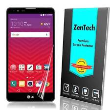 4X ZenTech® Clear Screen Protector Guard Shield Saver For LG Stylo 2 V (Verizon)