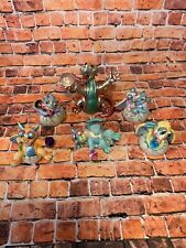 Lot Of 6 Franklin Mint Mood Dragons Limited Edition Dragon Figurines