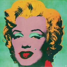 Marilyn Green #23 by Andy Warhol Art Print - 1989 Offset Lithograph Poster 38x38