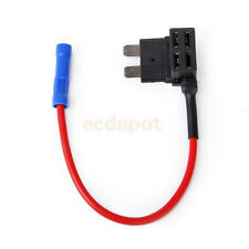 5 Pcs ATM Fuse Adapter tap Dual Circuit Adapter Holder for Car Truck Auto