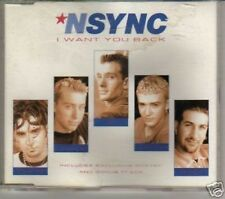 (B207) Nsync, I Want You Back 1998 CD single