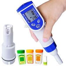 6-in - 1 Combo Penna Digitale pH EC TDS Salinità PPT Temp metro Tester qualità dell'acqua