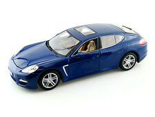 PORSCHE PANAMERA TURBO 2009 BLEU MAISTO 36197 1/18 1:18 ROAD BLUE METALLIC BLAU