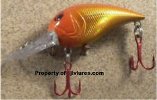 JLVLures Polliwog Shad- Hot Lava JPS06TR JLV Lure Lures Trout Steelhead