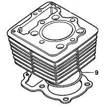 HONDA XR400 XR400R TRX400 XL350 XR350 CYLINDER O-RING GASKET 91302-356-000