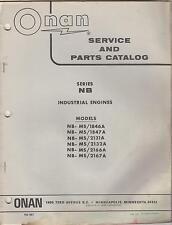 1972? ONAN SERIES NB INDUSTRIAL ENGINES SERVICE & PARTS MANUAL (104)