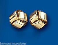 ANNEAU Boucles d'oreilles anneau Clou Or jaune anneau Boucles d'oreilles 9mm