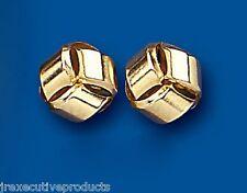 Yellow Gold Knot Earrings Knot Studs Knot Earrings 9mm