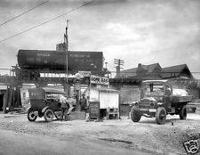 Photograph of the Dome Oil Gas Station in Maryland Year 1921   8x10