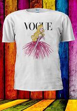 Disney Princess Sleeping Beauty Vogue T-shirt Vest Tank Top Men Women Unisex 504