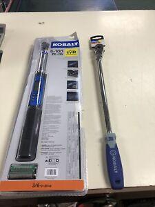 "Kobalt 3/8"" Dr Digital Torque Angle Wrench 5-100 Ft. Lbs."