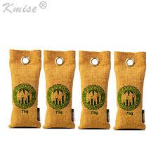 Air Purifying Bag Bamboo Charcoal Bag Air Freshener Odor Deodorizer 4 x 75g
