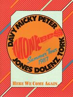 "MONKEES 1987 SUMMER TOUR CONCERT PROGRAM BOOK-WITH ""WEIRD AL"" YANKOVIC-NMT 2 MNT"