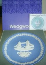 Blue British 1960-1979 Wedgwood Porcelain & China Tableware