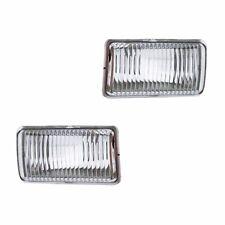 Fits Chevrolet S10 Base LS Driver Passenger Side Fog Light Lamp Assembly 1 Pair