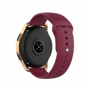 For Samsung Galaxy Watch Active 2 40mm/44mm Watch 4 3 42/46 Band Silicone Strap