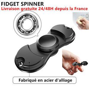 Hand Spinner Fidget Giocattolo Portatile IN Acciaio' Anti-stress Adulto Bambini.