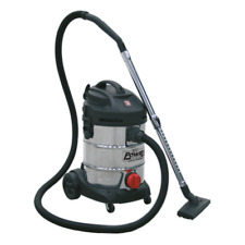 PC300SD Sealey Vacuum Cleaner Industrial 30ltr 1400W/230V Stainless Bin