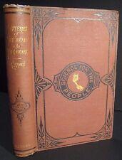 ANTIQUE 1881 PHRENOLOGY_ SPIRITUALISM_MESMERISM_MIND READING WITCHCRAFT MYSTERY